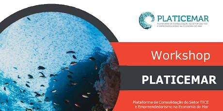 Inova-Ria - Workhop Prospetivo para a Consolidação das TICE na Economia do Mar  bilhetes