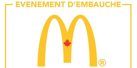 Journée de recrutement McDonalds tickets
