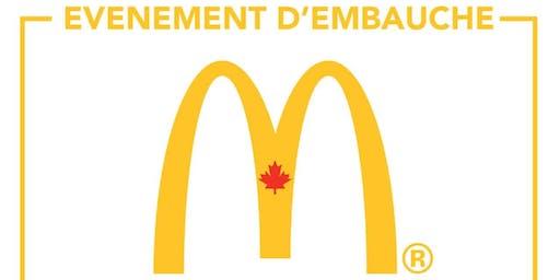 Journée de recrutement McDonalds