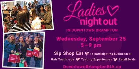 Ladies Night Out in Downtown Brampton tickets