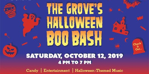 Boo Bash at The Grove
