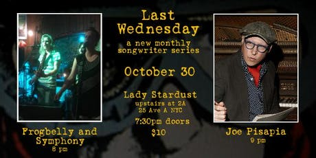 Last Wednesday with Joe Pisapia, plus Frogbelly and Symphony tickets