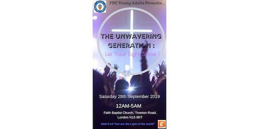 Faith Baptist Church- Young Adults All Night Service 2019