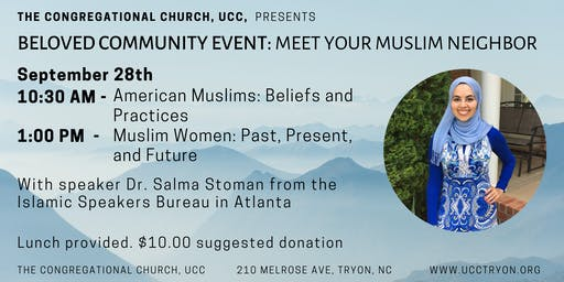 Beloved Community Event- Muslim Women: Past, Present, and Future