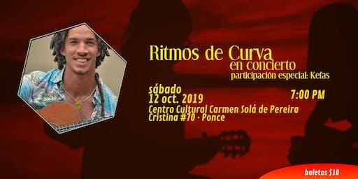 Ritmos de Curva en concierto