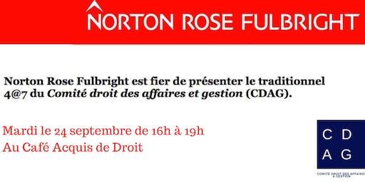 4@7 CDAG - présenté par Norton Rose Fulbright