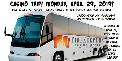 Casino Bus Trip to Firekeepers!