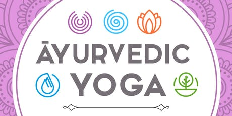Ayurveda's Three Pillars of Health Book Release and Yoga Class tickets