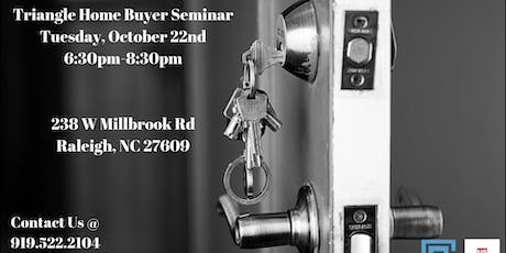 Triangle Home Buyer Seminar - Costello Real Estate & Investments tickets