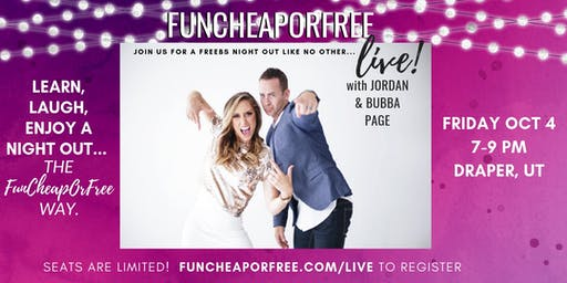 FunCheapOrFree Live, Utah!