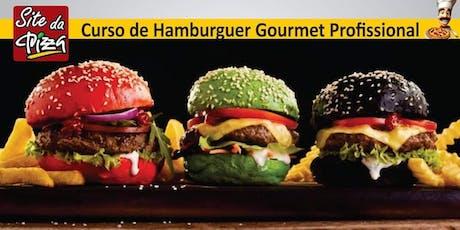 Curso de Hamburguer Gourmet Artesanal ingressos