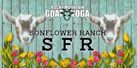 Goat Yoga - October 12th (SonFlower Ranch Fall Festival) tickets