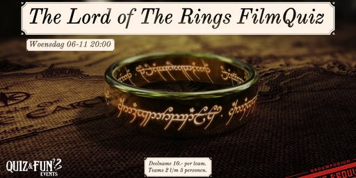 The Lord of The Rings FilmQuiz