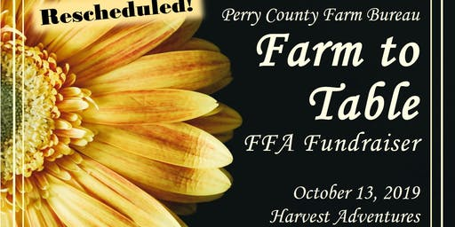Perry County Farm Bureau Farm to Table Dinner
