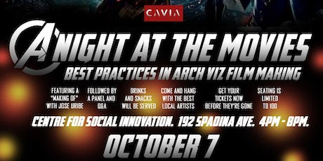 A Night At The Movies: Best Practices In Arch Viz Film Making tickets