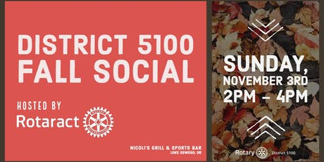 District 5100 Fall Social tickets