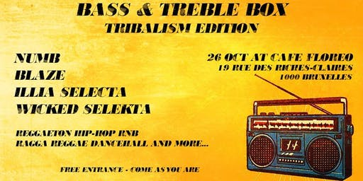 Bass & Treble Box - Tribalism Edition