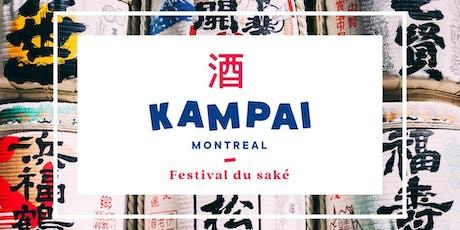 Kampaï Montréal 2019 Festival du saké! tickets