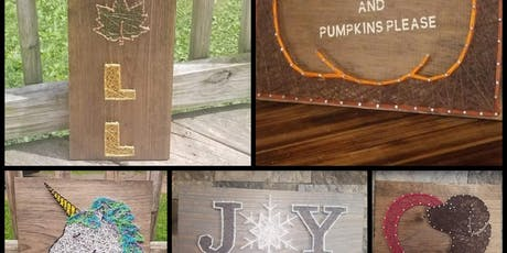 String  Art With Lisa Madtime Fitness Tannersville tickets