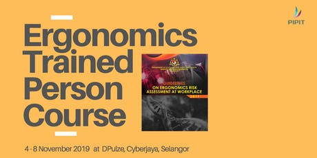 Ergonomics Trained Person Course (Selangor) tickets