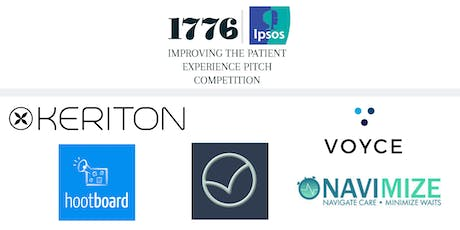 Improving the Patient Experience: a 1776 Pitch Competition powered by Ipsos  tickets