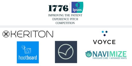 Improving the Patient Experience: a 1776 Pitch Competition powered by Ipsos