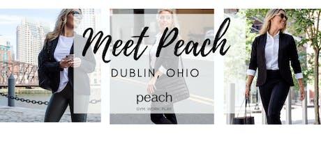 Meet Peach | Dublin, Ohio tickets