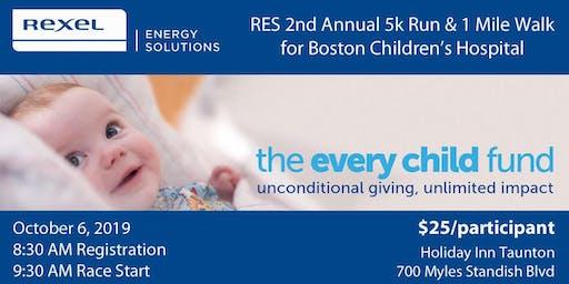 Rexel Energy Solutions 5k Run & 1 Mile Walk for Boston Children's Hospital