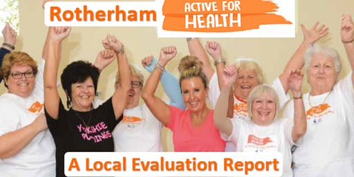 Rotherham Active For Health Evidence & Legacy Event