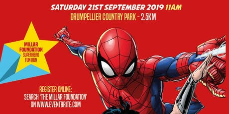 The Millar Foundation Superhero Fun Run  tickets