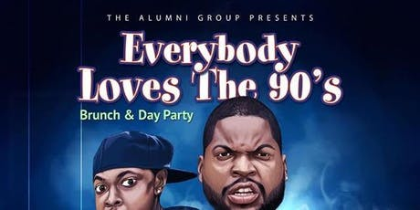 Everybody Loves The 90's Bottomless Brunch & Day Party - Columbus Day Weekend Edition tickets