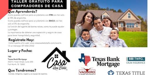 Seminario Gratuito Para Compradores De Casa