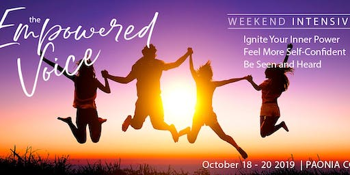 Empowered Voice Weekend Intensive – Paonia CO