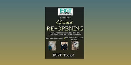 EXIT Right Realty Grand Re-Opening Party tickets