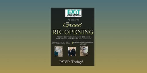 EXIT Right Realty Grand Re-Opening Party