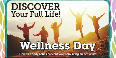 Walker Road Chiropractic Wellness Day tickets
