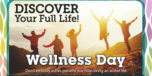 Walker Road Chiropractic Wellness Day