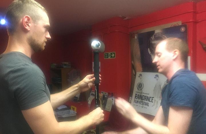 Hands On 360 / Virtual Reality Filmmaking Workshop image
