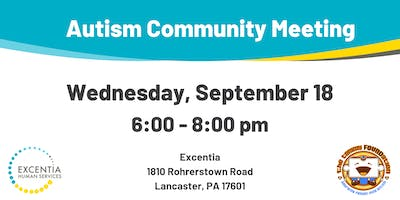 September Autism Community Meeting