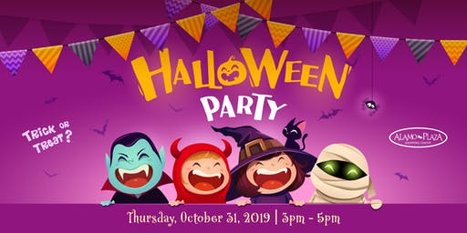 Free Community Halloween Party at Alamo Plaza!