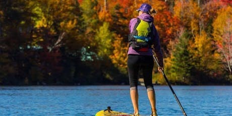 Fall colors women's social SUP tickets
