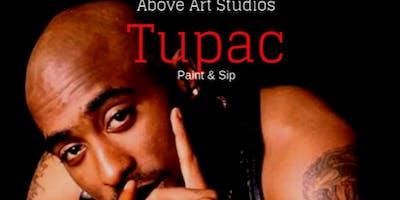 Tupac Paint & Sip Tribute