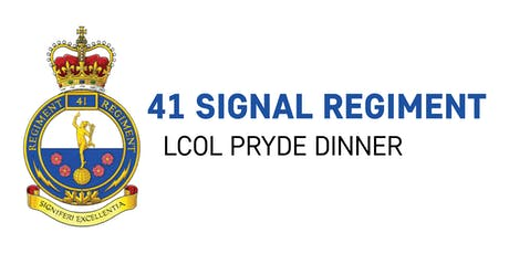 LCol Pryde Dinner - 2019 tickets