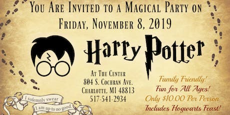 Harry Potter Party!  tickets