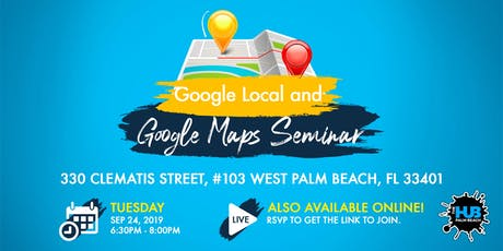 Ranking on Google Local and Google Maps Seminar tickets
