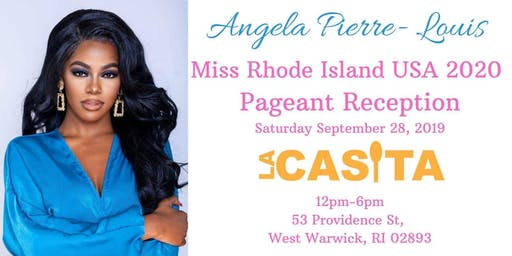 Angela Pierre-Louis Competes for Miss RI USA!!!