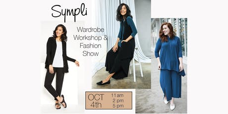 Sympli You! Wardrobe Building Workshop & Fashion Show tickets