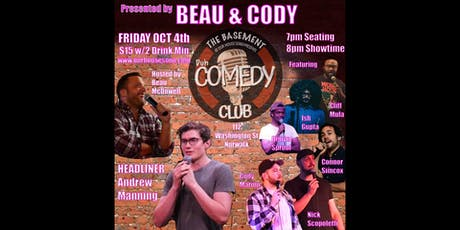 The  Basement presents Duh Comedy Night Club tickets