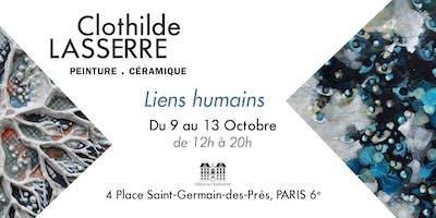 Liens Humains - exposition peintures & céramiques - Clothilde Lasserre