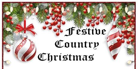 Festive Country Christmas tickets